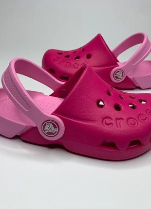 Кроксы сабо клоги crocs electro kids, сандалии крокс размеры 27-31. оригинал