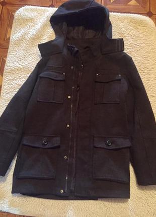 Стильное детское пальто debenhams р 152 см