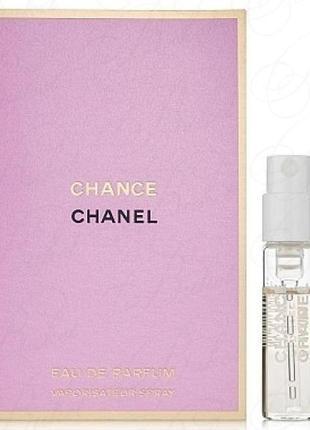 Chanel chance eau tendre eau de parfum - парфюмированная вода - пробник (виалка) -1.5 ml
