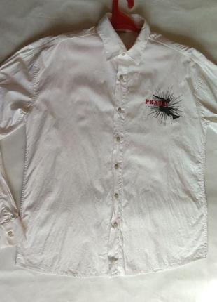 Рубашка prada сорочка р. xxl