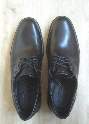 Мужские туфли ecco lisbon. р. 45.