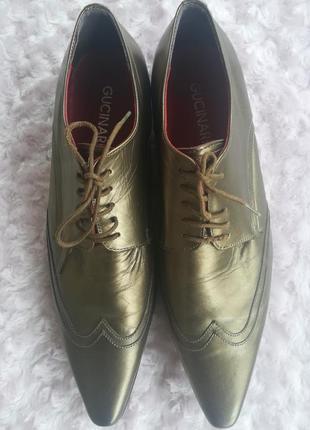 Мужские туфли из натуральной кожи gucinari