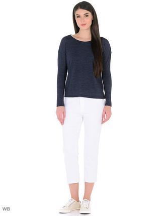 Белые укороченные джинсы большого размера 18