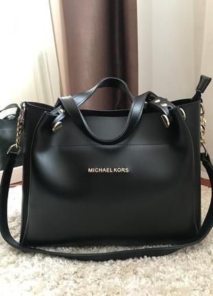 Вместительная сумка michael kors