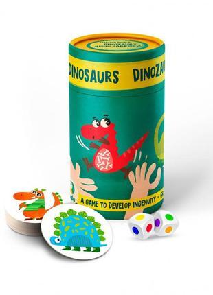Настільна гра до до динозаври