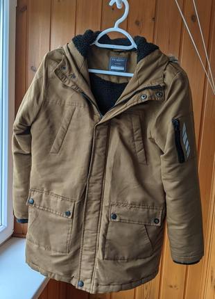 Демисезонная оригинальная куртка парка primark