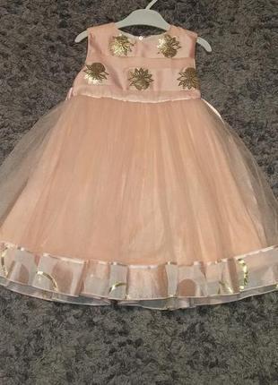 Плаття сукня нарядне 4-5років
