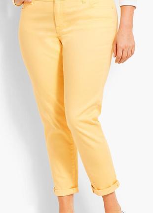 Яркие штаны чиносы talbots