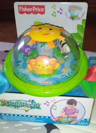 Развивающая игрушка шар неваляшка fisher price