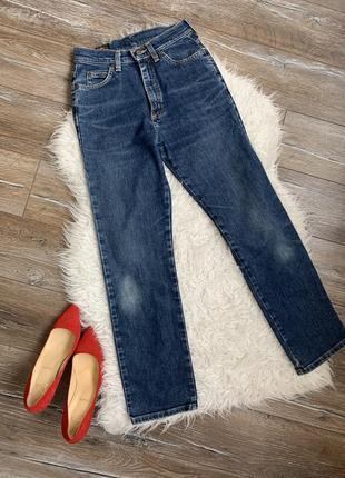 Стильные брендовый джинсы от lee. высокая посадка
