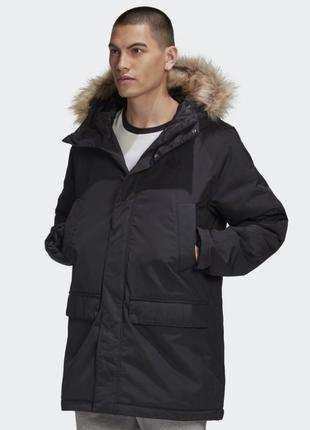 Парка ,куртка ,пуховик adidas originals pad fur parka, оригинал 100%