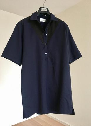 Vip бренд wood wood удлиненная рубашка шерсть cos rick owens allsaints