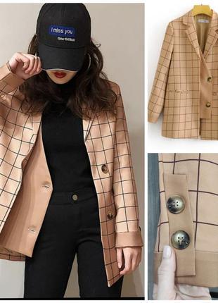 Пиджак твидовый