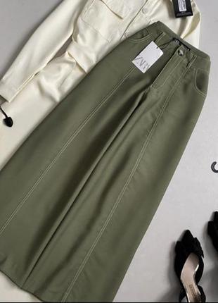 Новые  штаны кюлоты zara