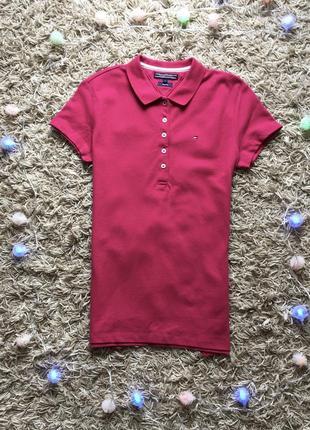 Женская футболка майка тенниска поло tommy hilfiger оригинал