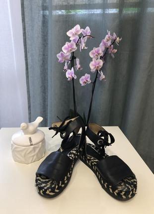 Palomitas босоножки с завязками