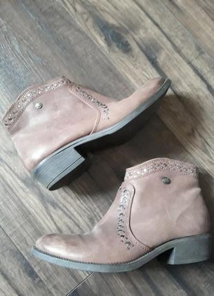Шкіряні черевики wrangler   ботинки
