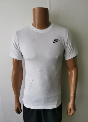 Nike tee белая футболка оригинал - xs