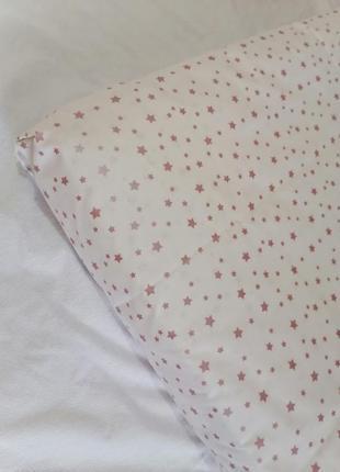 Простынь на резинке детская простирадло дитяче в ліжечко простинь