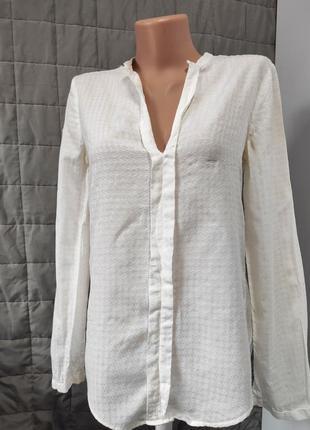 Рубашка блуза фирменная оригинал massimo dutti 💯 коттон