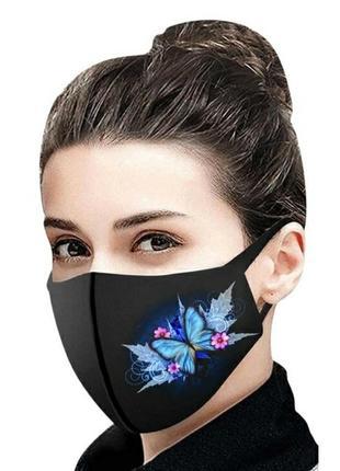 Многоразовая маска подростковая