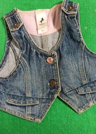 Жилетка  джинсовая от palomino