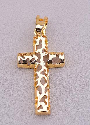 Крестик 'xuping' (позолота 18к) 0974240