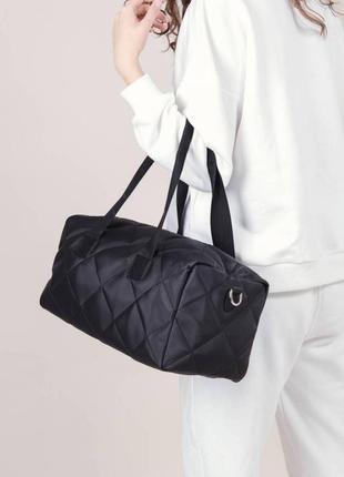 Объёмная спортивная сумка, вместительная нейлоновая сумка