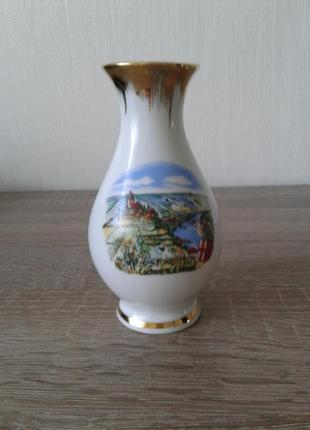 Сувенирная вазочка винтаж германия