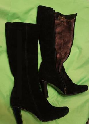 Шикарные зимние сапоги тм nivelle на узкие ножки