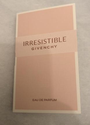 Givenchy irresistible пробник оригинал