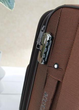 Валіза чемодан misely коричнева6 фото