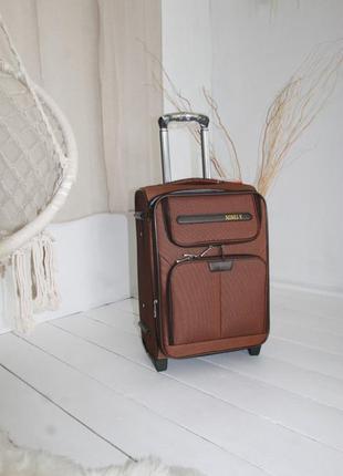 Валіза чемодан misely коричнева2 фото