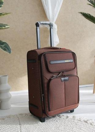Валіза чемодан misely коричнева