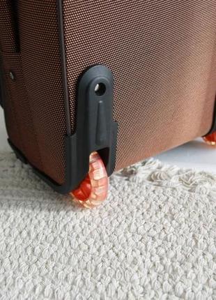 Валіза чемодан misely коричнева7 фото