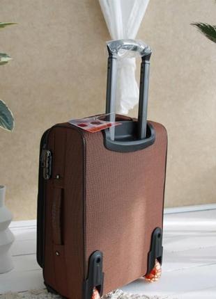 Валіза чемодан misely коричнева3 фото