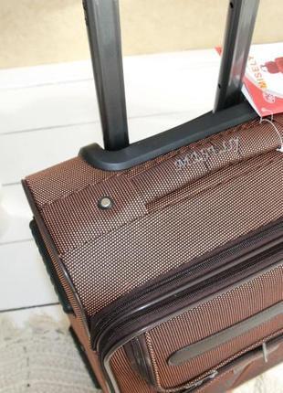 Валіза чемодан misely коричнева5 фото