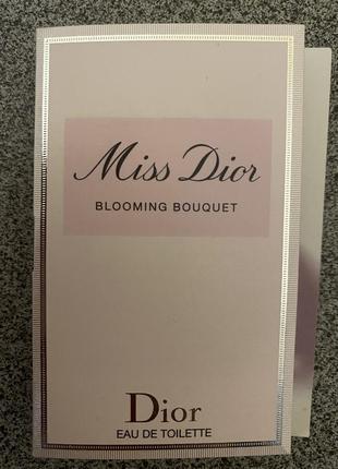 Dior пробник миниатюра оригинал
