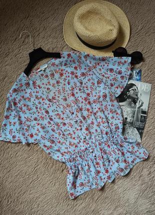 Актуальная винтажная блуза на пуговицах/блузка/кофточка/рубашка