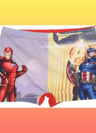 Плавки для мальчика avengers супергерои