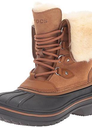 Зимние ботинки crocs р.5us-7us. оригинал