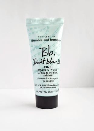 Стайлер для волос bumble and bumble don't blow it styler