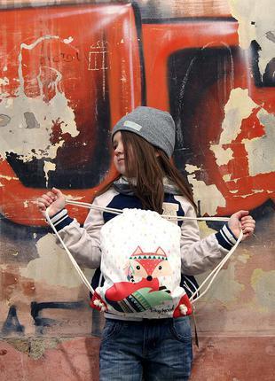 Рюкзак-мешок mini для девочек