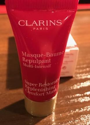 Омолаживающая маска для лица masque-baume repuipant от clarins