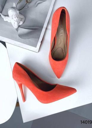 Туфли лодочки яркие