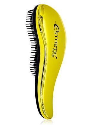 Расчёска для волос esthetic house hair brush for easy comb
