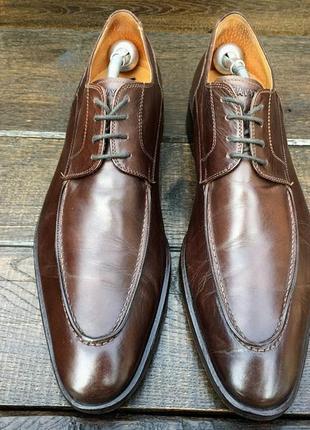 Navyboot. кожаные мужские туфли\оксфорды\броги\ классические