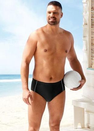 Пляжные мужские плавки слипы livergy.