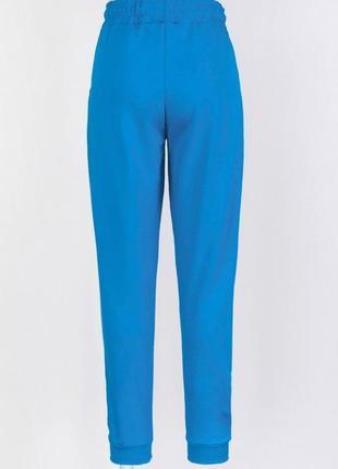 Женские голубые синие спортивные брюки4 фото