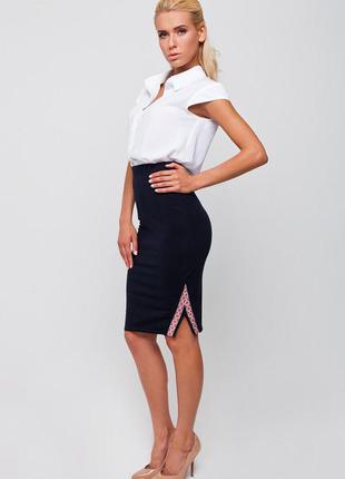 Стильная юбка-карандаш с высокой талией от nenka